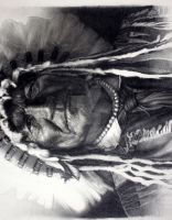 Native American Indian Chief by murrayIII