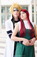 Endless love. Kushina, minato cosplay, Naruto. by Giuzzys