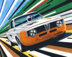 Alfa GTA by klem