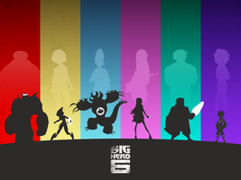The Big Hero 6 by CubedMEDIA
