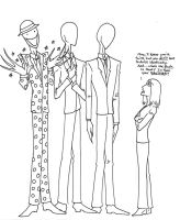 The Slender Brothers by LadyoftheGeneral