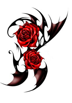 Tatoo Dark Rose by EdgarElo-Him