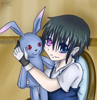 Ciel and bunny by AnitaTrashlove