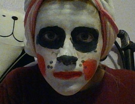 mangle face paint by avatarlover14