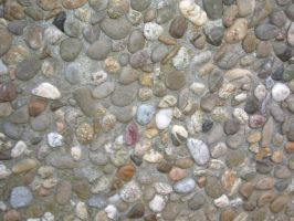 Pebble Wall Texture 02 by Lengels-Stock
