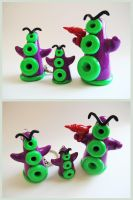 Day of the Tentacle buddies by KTOctopus