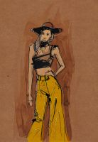 Fashionbrown by isalro