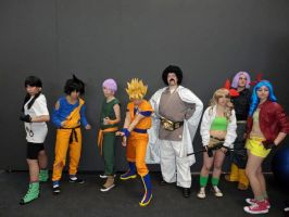 Super group! Z warriors by Alexcloudsquall