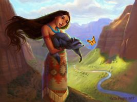 Anasazi Princess by oneKATIE