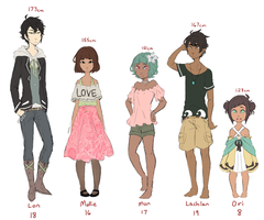 OC Chart by pianorei