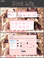 Pink life for IconPack by koi by koinomegalovers