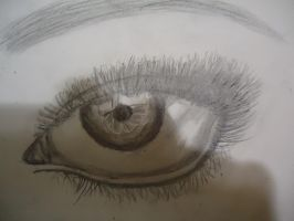 The realistic Eye by annaxichigo