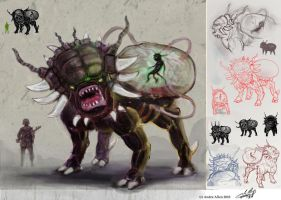 Old Creature Concept by PoetryMan1