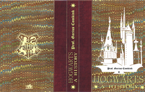 Hogwarts history book cover prop by I-never-stop