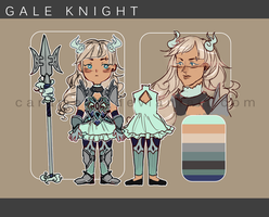 Adopt Auction: Gale Knight [closed] by carameau