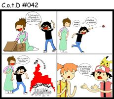 CotdD no. 042 - A basic misconception of Pokeballs by ajchon