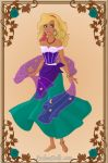 Next Generation Disney Heroines: Jaelle by KatePendragon