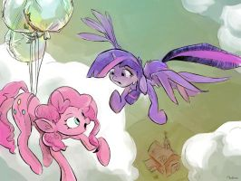 Coming to the rescue? by mozakiaeolus