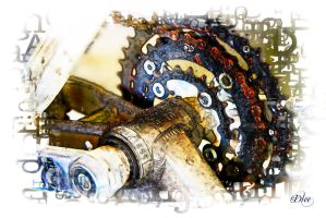 Bicycle's Gears 2 by DleeKirby
