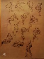 Life Drawing 13 by marvelmania
