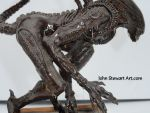 Alien Scratchmade Sculpture $300 by johnstewartart