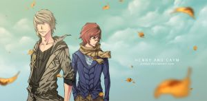 Henry and Caym by Jinbae