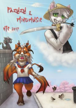 NFC2017 door sign by Mindmusic