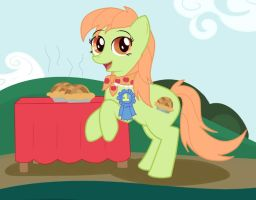Youngin' Granny Smith by Dunkinbean