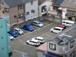 Parking Lot by I-Lost-my-Pencil
