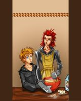 Kingdom Hearts - Baking by bucketmouse