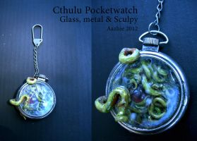 Cthulu's Pocketwatch by Aazhie