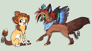 the snuffens before snuffen by griffsnuff