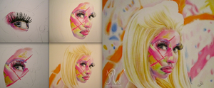 Nicki Minaj WIP Series by PriscillaW