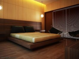Interior Bedroom a by RullyArt