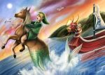 Link got a Seahorse by yurionna