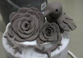 Clay roses and C1 by human1123