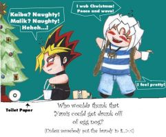 drunken christmas yamis by asanji