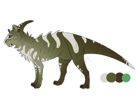 OS adopt : Felidaurolophus #1 - AUCTION (CLOSED) by SwarThylacine-Adopts