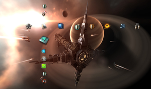 EVE Online Theme for PS3 by some-random-loser
