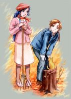 OC+FMA: Autumn Cleaning One by Aileine