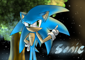 Sonic by Anceldaria
