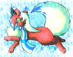 In the Frost is Glitter by FlareAKACuteFlareon