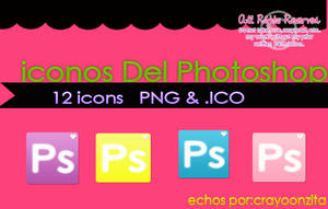 Iconos Del Photoshop by CrayoonzitAw
