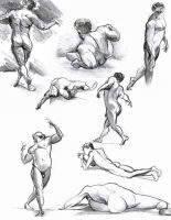 Life Drawing 08 by andrewk