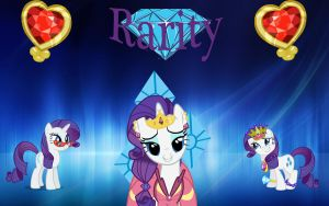 Rarity Wallpaper by Macgrubor