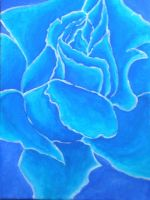 Blue Rose by lilifane