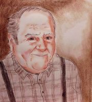 Portraits: Grandpa by CpointSpoint