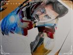 Tony Stark Rises ~ WIP I by Martin--Art