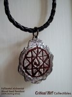 Blood Seal Pendant by GrinningManiac