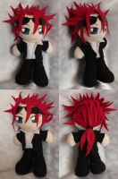 Commission, Mini Plushie Reno by LadyoftheSeireitei